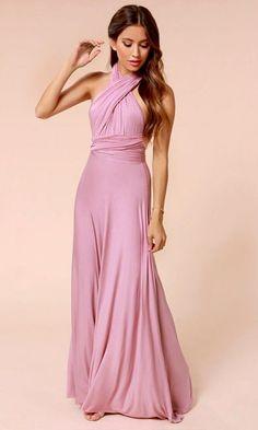 6d5071f3dae1 LULUS Exclusive Tricks of the Trade Mauve Maxi Dress Evening Dresses