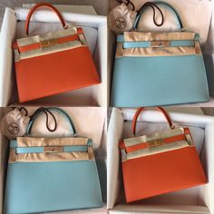 8a20706720a Hermes Kelly Bags 2 New Arrivals — 2 Happy New Arrivals! Both brand new and