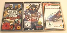 PSP Games USK Games Lot Of 3 USK Version German European Playstation Portable | eBay Playstation Portable, Psp, German, Baseball Cards, Games, Store, Ebay, Deutsch, Tent