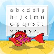 Red Fish Alphabet 4 kids. ipad app for autism...remember to download. free