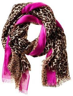 Madison Leopard Scarf on shopstyle.com