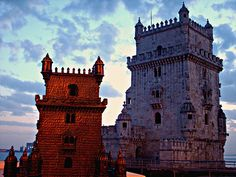 http://www.remains.se  Torre Belem and Model