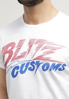 Edwin - BLITZ - T-Shirt print - white