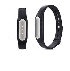 Xiaomi MiBand 1S Light-sensitive Heart Rate Smart Bracelet - BLACK - Free Shipping - DealExtreme
