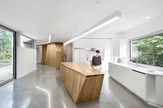 House on Lac Grenier by Paul Bernier Architecte - Estérel, Canada | Tododesign by Arq4design
