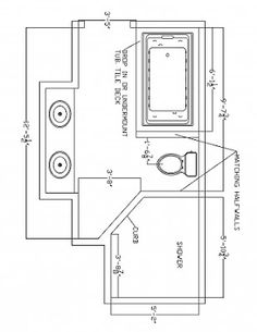 Layouts For Small Bathrooms With Double Sink Vanity And Modern Bathtub And  Shower In The Corner Space