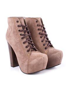 Visítanos en www.clickonero.com.mx... ... Camina con estilo... #fashion #moda #zapatos #botas #botines #calzado #tacon #accesorios #agujeta #cafe