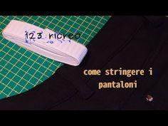 Metodo semplice e veloce per stringere dei pantaloni elasticizzati che si allentano nel punto vita dopo un pò che vengono indossati e si ha la scomodità di d...