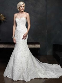 Kenneth Winston Style #1545. Available @ LOWS BRIDAL.