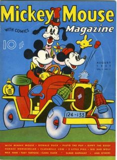 Cover for Mickey Mouse Magazine (Western, 1935 series) #v2#11 [23]