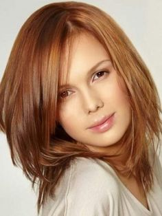 100% Remy Human Hair Mid-Length Straight Lace Front Wig