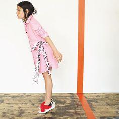 Pink Animal print  #ss17collection #ss17 #msgmkids #msgm #adv #fashion #fashiongirl #kidsclothing #kidsstyle #kidsfashion #style #pink #animaliet #tv_kidz #madeinitaly #girls #newcollection #kids #fashion #msgmcrew
