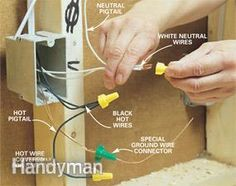 Do-it-yourself guide with professional techniques for a safe wiring job.