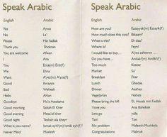 Speak Arabic                                                                                                                                                                                 More