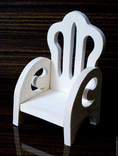 Купить Кресло для куклы (2) - комбинированный, кресло для куклы, кресло дя кукол, кукольное кресло