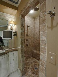 Master bathroom. Designer: Beth--Home on the River - traditional - spaces - cincinnati - Keidel Supply