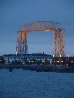 Duluth, Minnesota, I use to work in that hotel:)