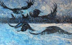 ravens in art - Google Search