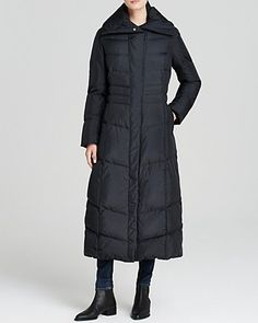 Cole Haan Down Coat - Pillow Collar Quilted | Bloomingdale's #onsaleNOW