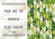 Pour une vie vraiment plus fraîche #Veggister #Florette #Salade #Hipster #Lifestyle #Citation #Quote