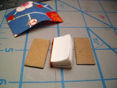 Making a Miniature Book tutorial