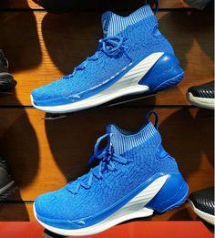 e88d335b4b9 Anta 2019 Men s Klay Thompson KT4 High Basketball Shoes - Blue