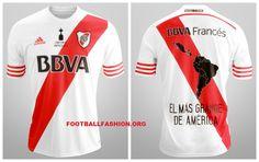River Plate 2015 Copa Libertadores Champions adidas Home