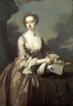 Mary Finch, Viscountess Andover (1746).Thomas Hudson (English, 1701-1779).Oil on canvas.