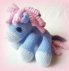 häkeln My Sweet Pony - PDF Pattern Anleitung von Crochetland auf DaWanda.com