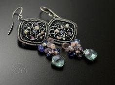 MARE - Earrings - Handmade by JoannaWatracz.deviantart.com on @deviantART