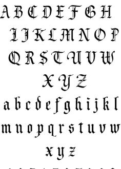 Tattoo Lettering | Lettering Tattoos Fonts Tattoo Designs