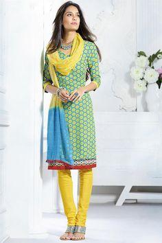 Beautiful Lisa Haydon Cotton Salwar Kameez