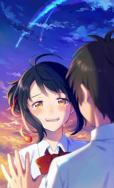 Read Kimi No Nawa from the story Secuil Gambar Anime by Ebikatsoo (udang rebon) with reads. Kimi no Na wa. Anime Kawaii, Anime Love, Animé Romance, Romance Anime, Romance Movies, Otaku Anime, Anime Art, Manga Anime, Cool Animes