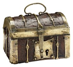 lotimage Furniture Fittings, Steamer Trunk, Trunks And Chests, Antique Coins, Money Box, Casket, Treasure Chest, Hope Chest, Making Out