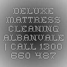 Deluxe Mattress Cleaning Albanvale | Call 1300 660 487