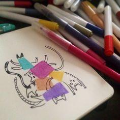 En mode recherches :) Sketches for a new project