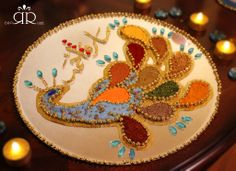 Aghd Qaran by Ruaa Rose - Tray for Lucky