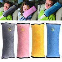 Assento Kid Car Vehicle Safety Belt Harness Capa Shoulder Pad Almofada Apoio Cabeça