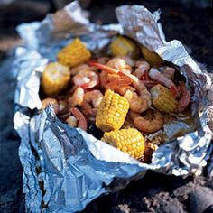 Barbecued Lime Shrimp and Corn | CookingLight.com