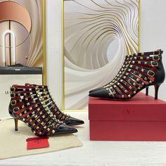Valentino rockstuds ankle boots Valentino Shoes, Valentino Rockstud, Floor Chair, Uk Europe, Albania, Jerusalem, The Originals, Uae, Paris France