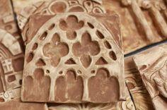 High School: Ceramics- Architecture Relief Tiles (Cool Art Shape)