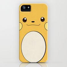 Raichu - Pikachu's evolution. Pokemon Poster iPhone & iPod Case