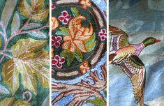 Kashmiri embroidery - Kashida, aarikam, Sozni, Crevel