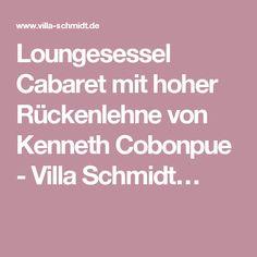 Loungesessel Cabaret mit hoher Rückenlehne von Kenneth Cobonpue - Villa Schmidt…