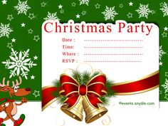 115 Best Christmas Invitation Cards Images Christmas