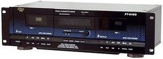 Cassette Tape Decks: Audio Dual Cassette Deck -Auto Stop, Multifunction Display -> BUY IT NOW ONLY: $125.95 on eBay!