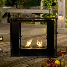 Exterior: Superb Indoor Outdoor Fireplace Security from The Differences Of Indoor Outdoor Fireplace