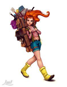 ArtStation - Character Design 2015, Amanda Duarte
