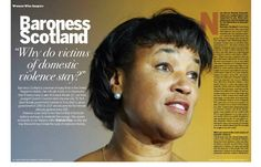 Baroness Scotland: Why Do Victims of Domestic Violence Stay?