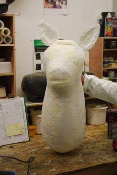 Self standing flat pack polystyrene animal cutouts #visualmerchandise #animal #polystyrene…